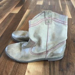 EUC Girls size 3 real leather boots from PEEK